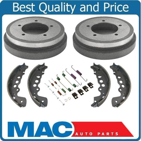 Rear Brake Drums Shoes Brake Springs For 00-04 Chevy Tracker 100% New