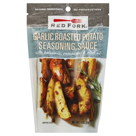 Red Fork Garlic Roasted Potato Seasoning Sauce, 4 Ounce