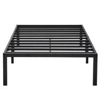 Sleeplanner 14-inch Twin XL Dura Steel Slat Bed Frame