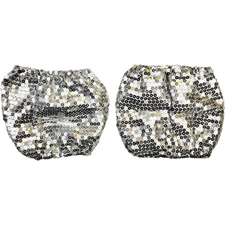 Sequin Leg Cuffs Adult Halloween Accessory - Halloween Jackson Nj