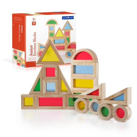 Jr. Rainbow Blocks - 20 pc. set