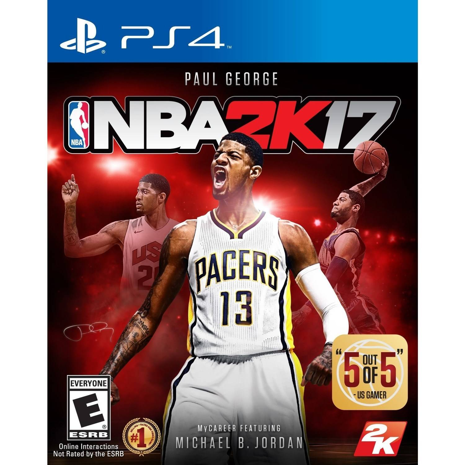 NBA 2K17 for PlayStation 4 by TAKE 2 INTERACTIVE