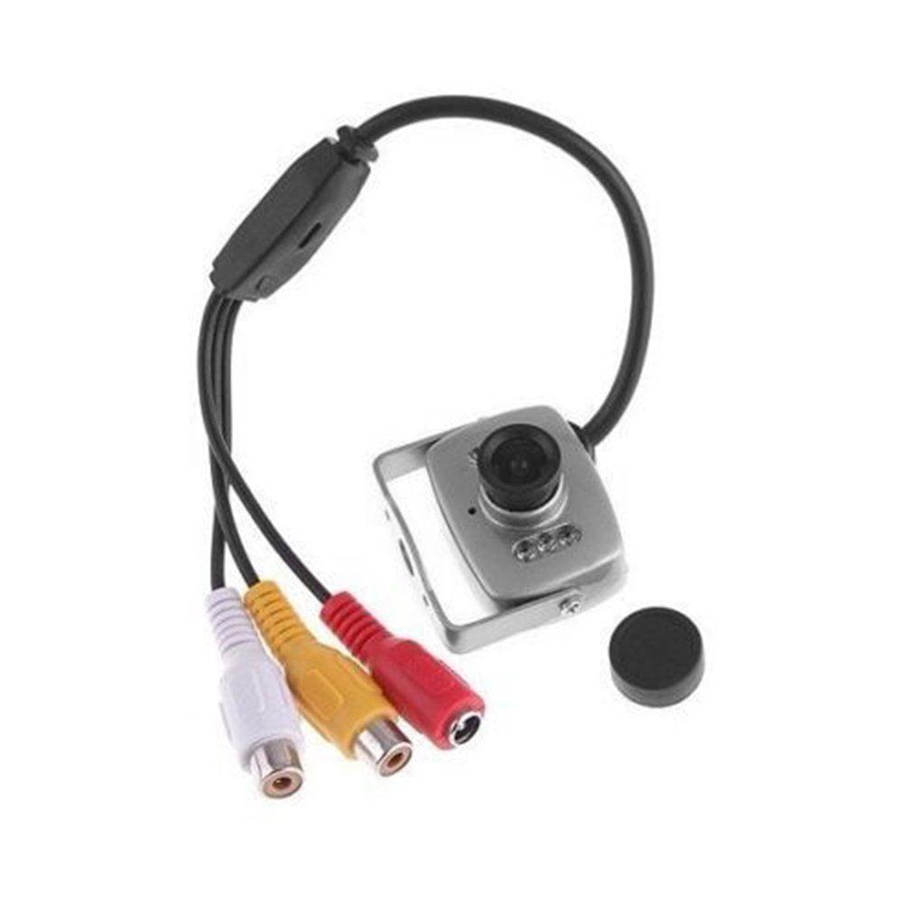 Mini CMOS Camera Infrared Night Vision Security Surveillance Video Camera,silver