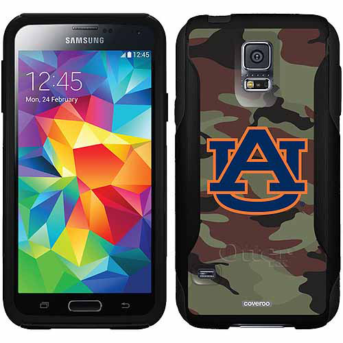 Auburn University Camo Design on OtterBox Commuter Series Case for Samsung Galaxy S5