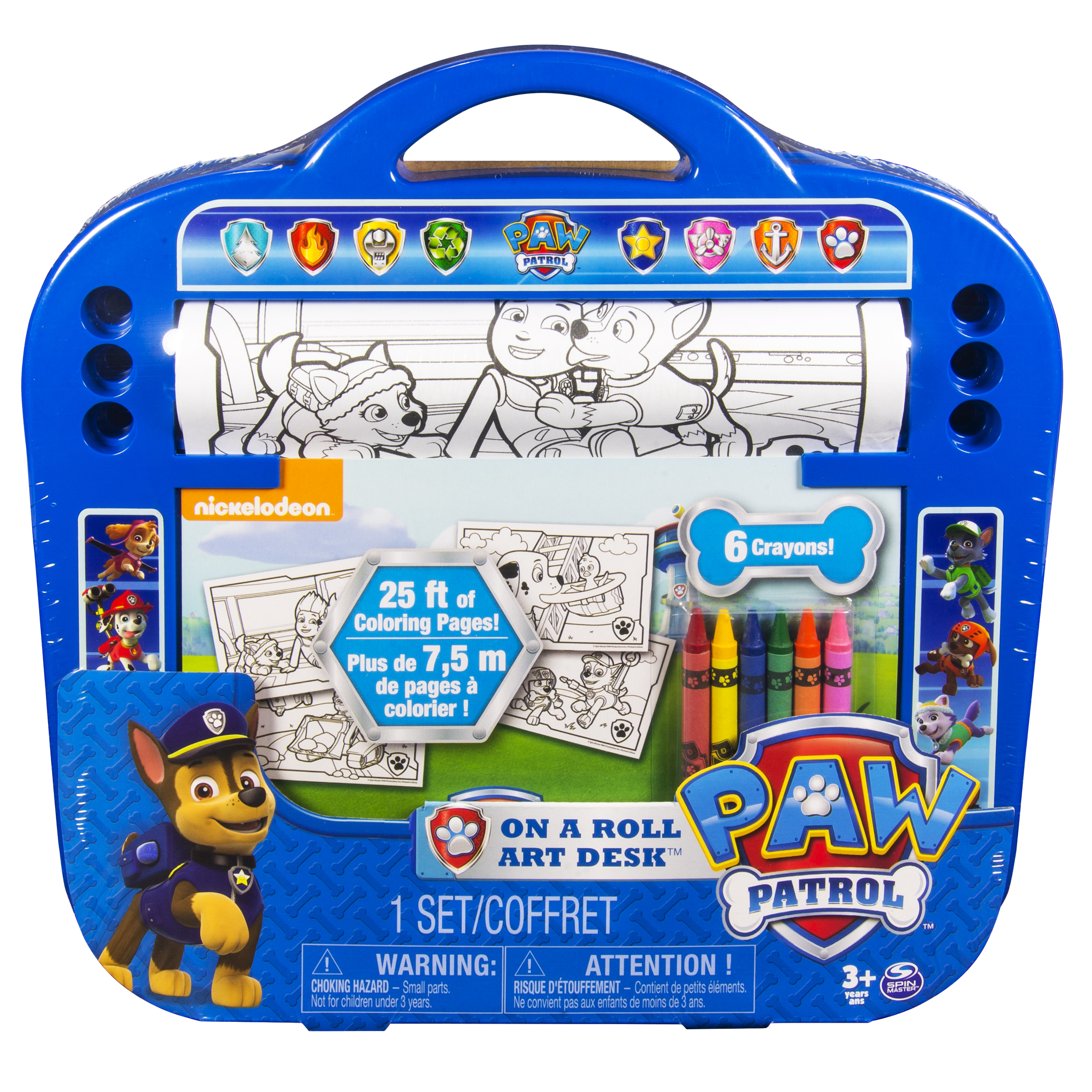 Paw Patrol - Activities - On A Roll Art Desk