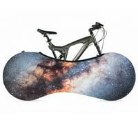 (Starry Sky)Bike Cover Bicycle Wheel Cover Indoor Anti-dust Bike Storage Durable Wheel Cover Bike Storage Bag Rip Stop