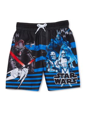 Star Wars Boys 4-7 Swim Trunks