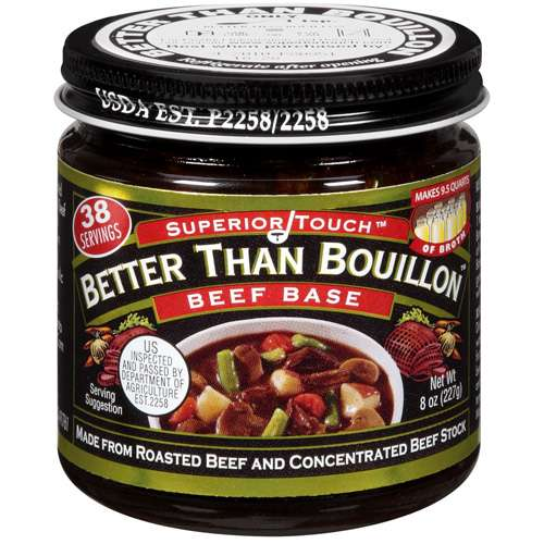 Superior Touch Better Than Bouillon Made From Roasted Beef And Concentrated Beef Stock Beef Base, 8