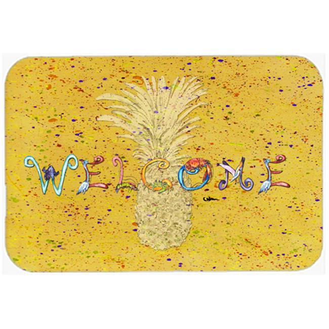 Carolines Treasures 8557-JCMT 24 x 36 in. Pineapple Kitchen Or Bath Mat - image 1 de 1