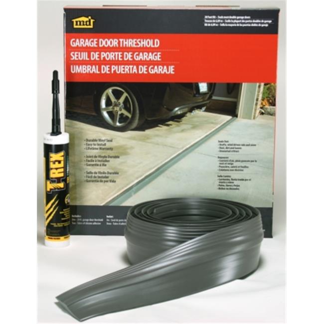 M D Products 50101 20 Ft Garage Door Threshold