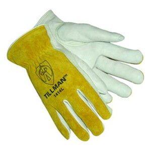 Tillman 1414L Top Grain/Split Cowhide Drivers Gloves - LARGE - 10 Pack