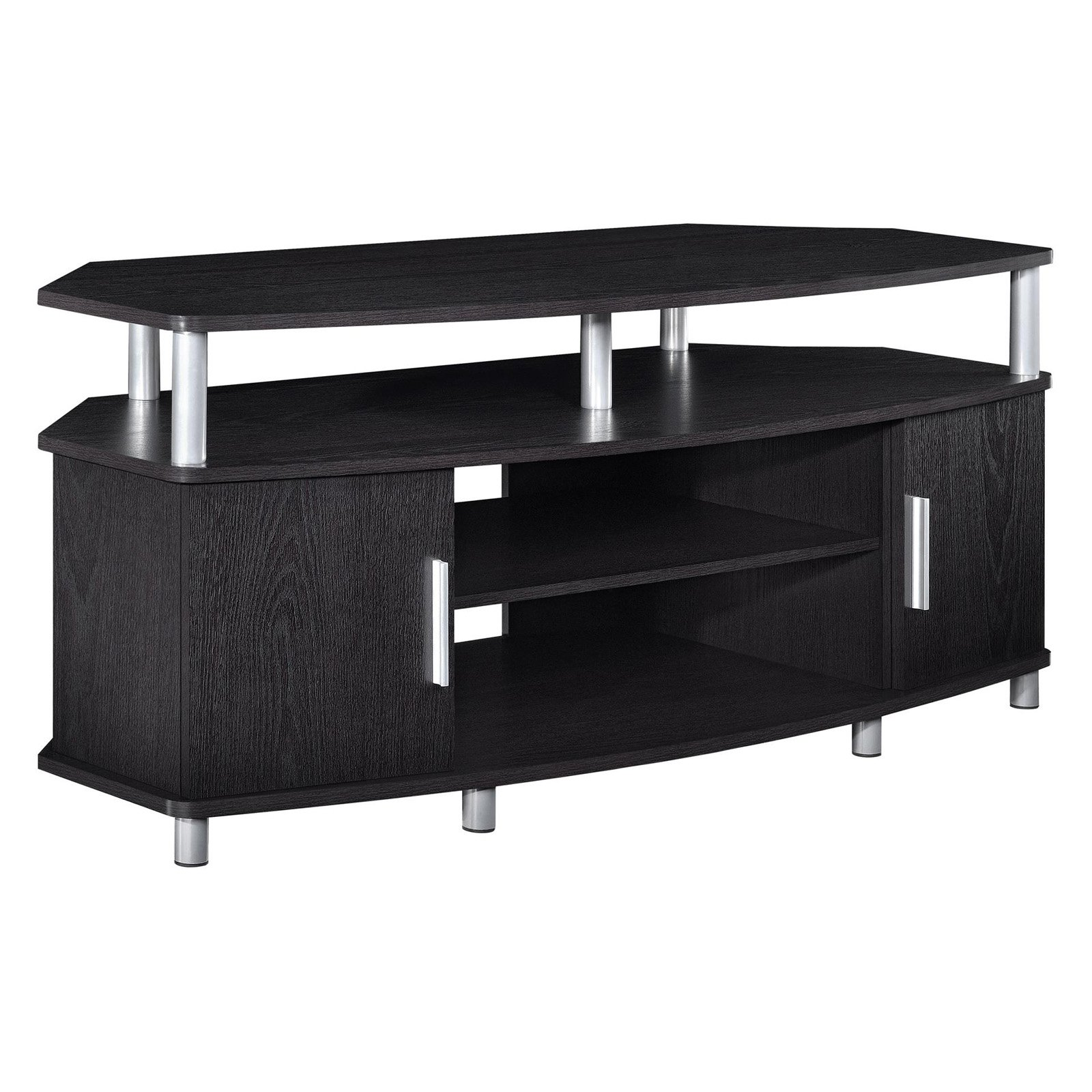 "Ameriwood Home Carson Corner TV Stand for TVs up to 50"" Wide, Black Cherry by Ameriwood"