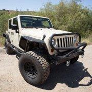 Smittybilt Rock Crawler Side Armor (Black) - 76634