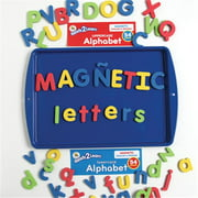 Center Enterprise CE6909 READY2LEARN Upper/Lower English/Spanish Magnetic Alphabets Combo Pack of 108