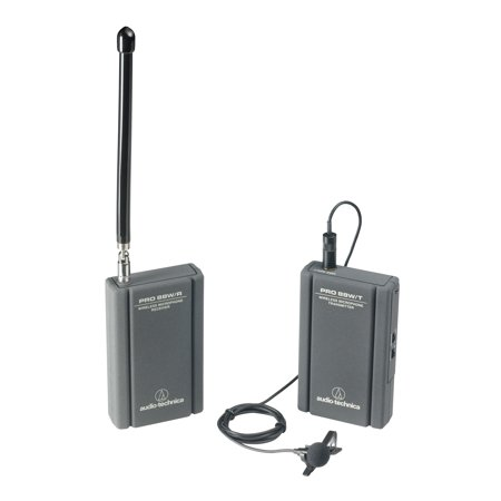 Audio Technica Professional VHF Wireless Lavaliere Camcorder Microphone System