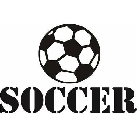 New Wall Ideas Soccer Ball Player Sports Kids Boy Girl 16x24