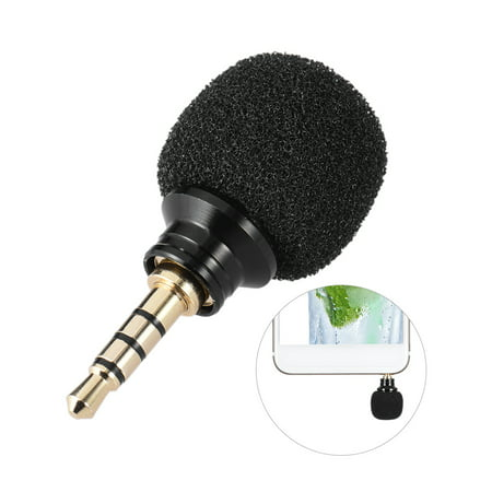 Cellphone Smartphone Portable Mini Omni-Directional Mic Microphone for Recorder for iPad Apple iPhone5 6s 6