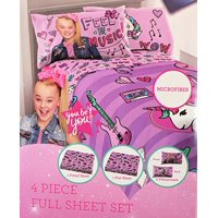 "Jojo Siwa  ""Feel the Music"" 4 Piece Full Sheet Set"