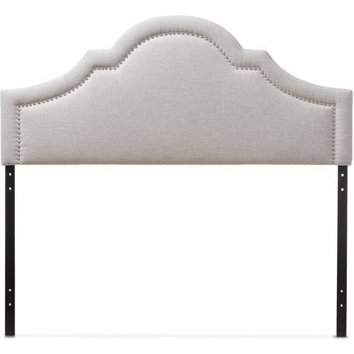 Baxton Studio Rita Modern and Contemporary Upholstered Headboard, Multiple Sizes and Colors by Baxton Studio