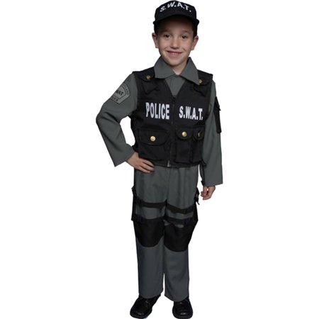 swat child halloween costume walmartcom - Swat Costumes For Halloween