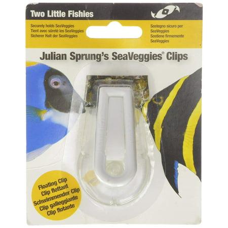 Fish Veggie Clip (ATLSVCS Sea Veggie Clip Carded, Two Little Fishies Sea Veggie Clip Carded By Two Little Fishies)