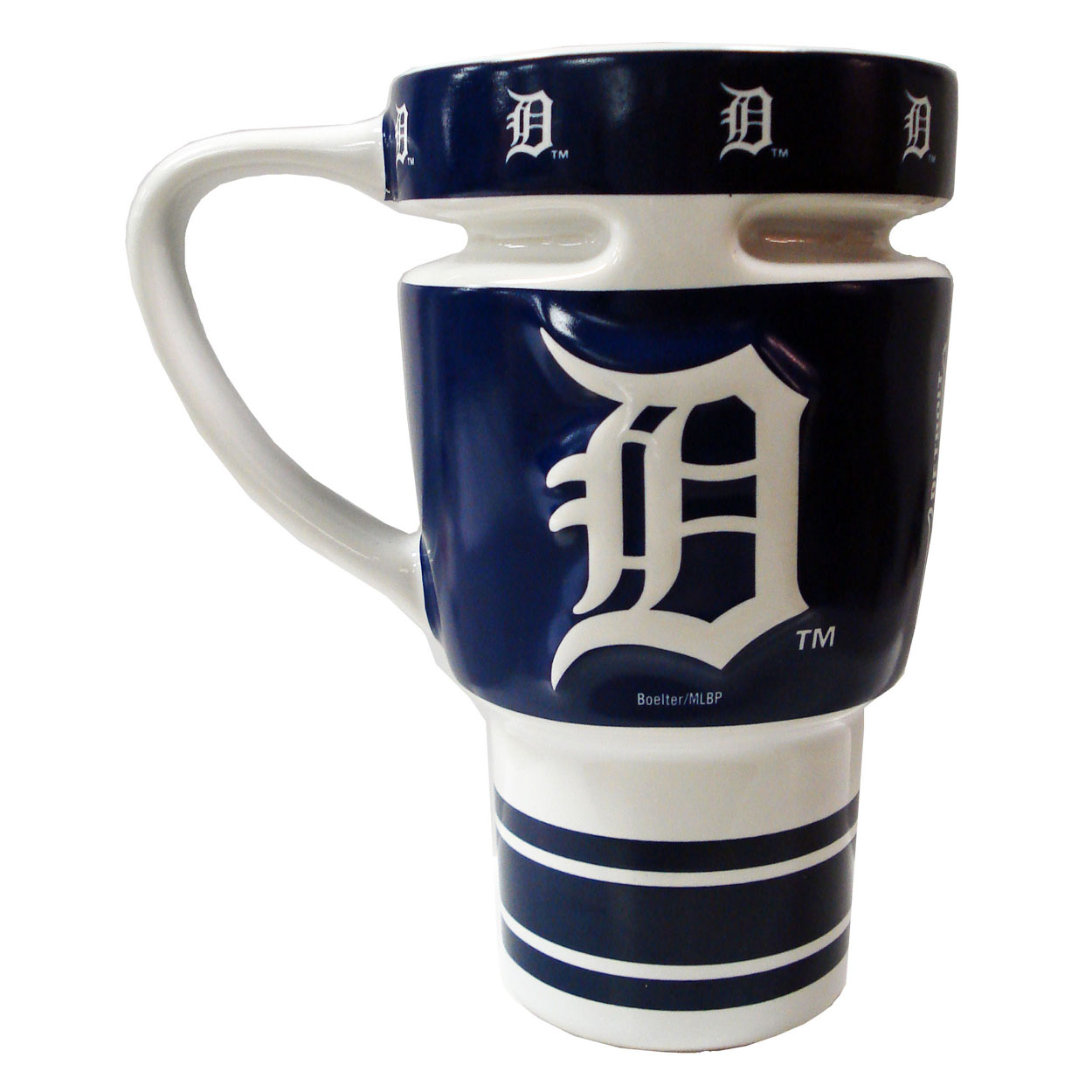 MLB 15oz Sculpted Travel Mug - Detroit Tigers