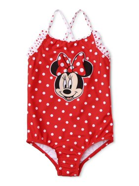 Minnie Mouse Toddler Girl Polka Dot One-Piece Swimsuit