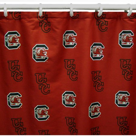 College Covers NCAA South Carolina Cotton Shower Curtain
