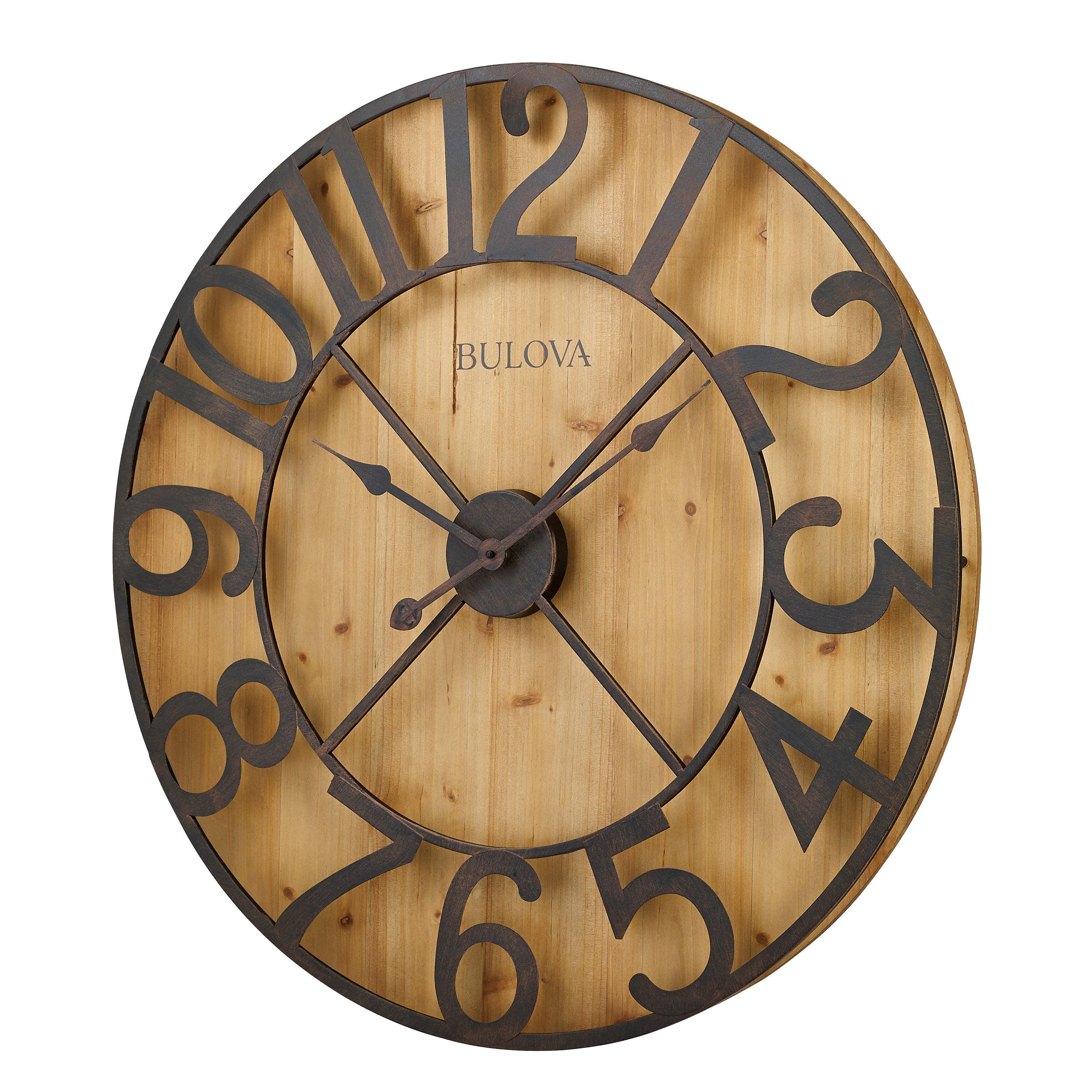 Bulova silhouette wall clock walmart amipublicfo Gallery