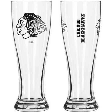- Boelter Brands NHL Chicago Blackhawks 2-Pack Gameday Pilsner Set