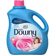 Ultra Downy April Fresh with Silk Touch Liquid Fabric Softener, 129 fl oz