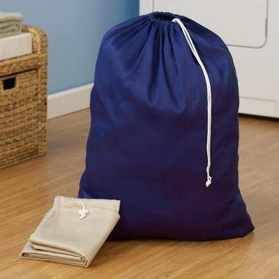 120-1 Extra Large Heavy Duty Poly Cotton Blend Laundry Bag Assorted Colors, By Household Essentials