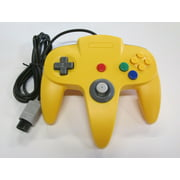 Yellow Replacement Controller for Nintendo N64 by Mars Devices