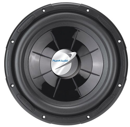"Planet Audio PX12 12"" 1000W Single Voice Coil Flat Subwoofer"