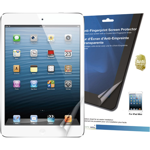 Green Onions RT-SPIPADM01AF Crystal Anti-Fingerprint Screen Protector for Apple iPad mini