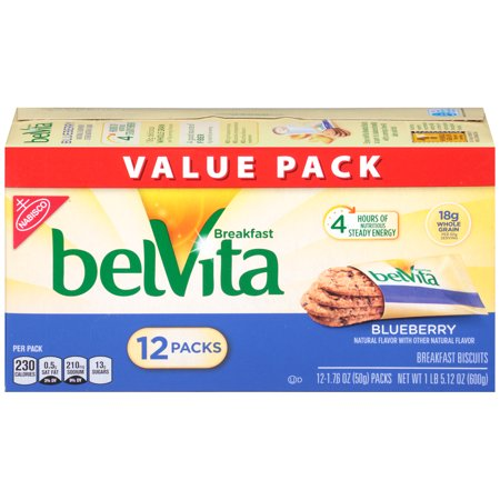BelVita Blueberry Crunchy Breakfast Biscuits, 21.1