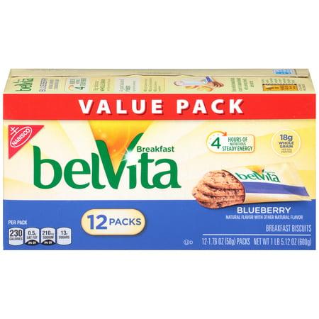 Halloween Breakfast Foods (BelVita Blueberry Crunchy Breakfast Biscuits, 21.1)