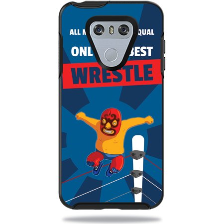 Skin For OtterBox Symmetry LG G6 Case – Best Wrestle | MightySkins Protective, Durable, and Unique Vinyl Decal wrap cover | Easy To Apply, Remove, and Change Styles | Made in the