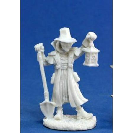 Reaper Miniatures Townsfolk:Undertaker #77143 Bones Plastic D&D RPG Mini - Undertaker Toys