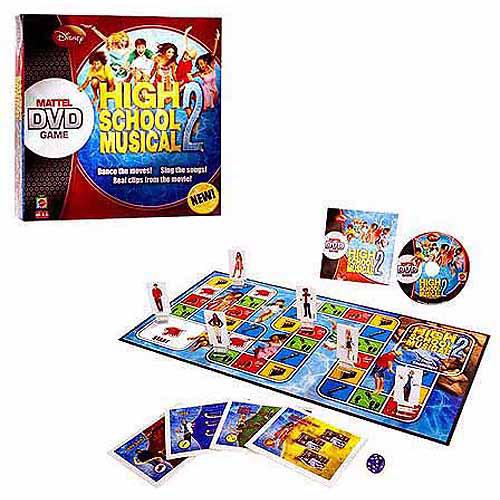 High School Musical 2 DVD Game by Mattel