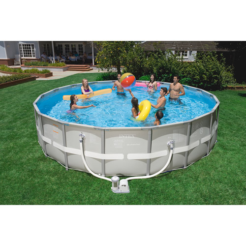 Intex 18 X 48 Ultra Frame Swimming Pool Walmart Com