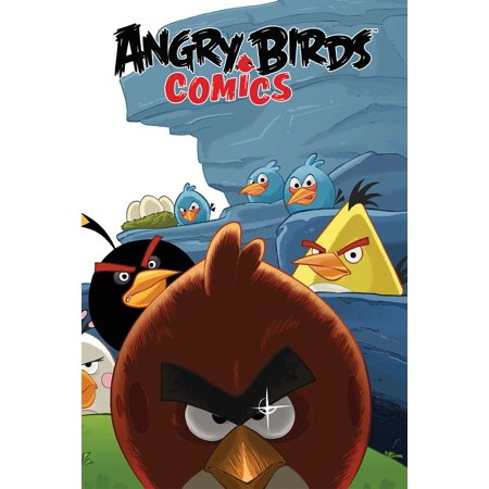 Angry Birds Comics Volume 1: Welcome to the Flock - Angry Birds Halloween Comic Book