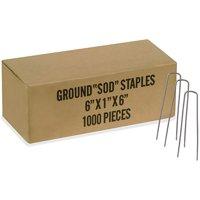 Easy Gardener 817 Commercial Fabric Staples 1000 Count