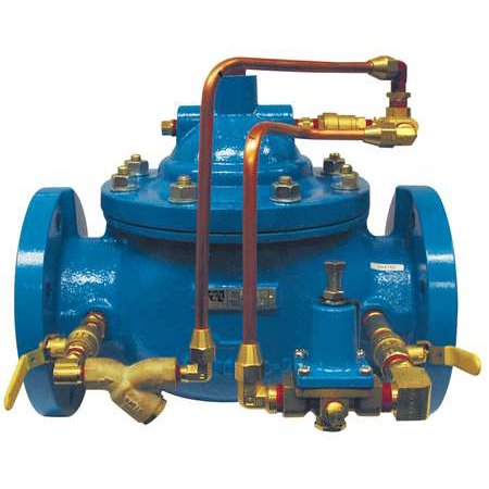 Pressure Reducing Valve ,4 In,Flanged WATTS 115-4 FL