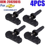 ESYNIC 4pcs TPMS Tire Pressure Monitoring Sensors For Chevrolet Chevy Cadillac Buick GMC 25920615 OEM 25920615 13581558 13586335 15123145 15254101 15922396 20923680 22854866 25799331 25952370