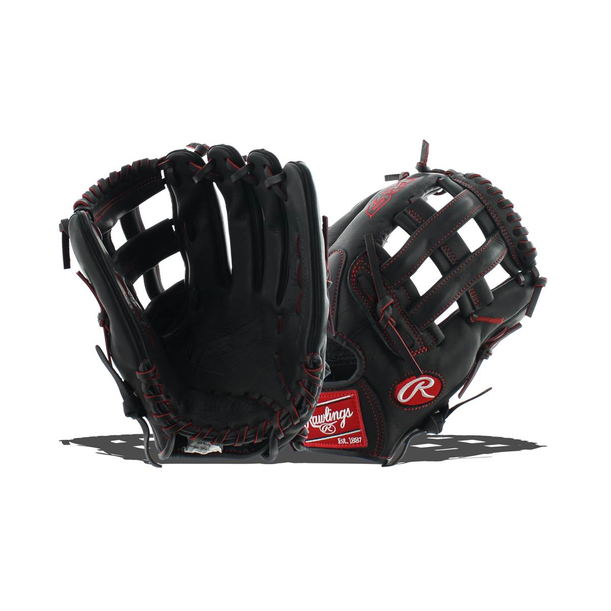"Rawlings 12"" R9 Series Youth, Pro Taper Baseball Glove, Right Hand Throw"