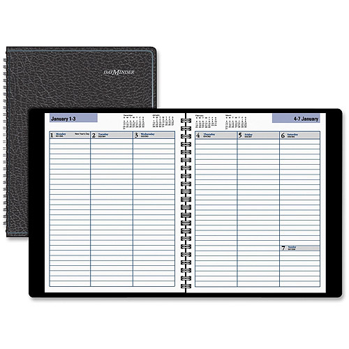 At-A-Glance DayMinder Open Scheduling Weekly Planner