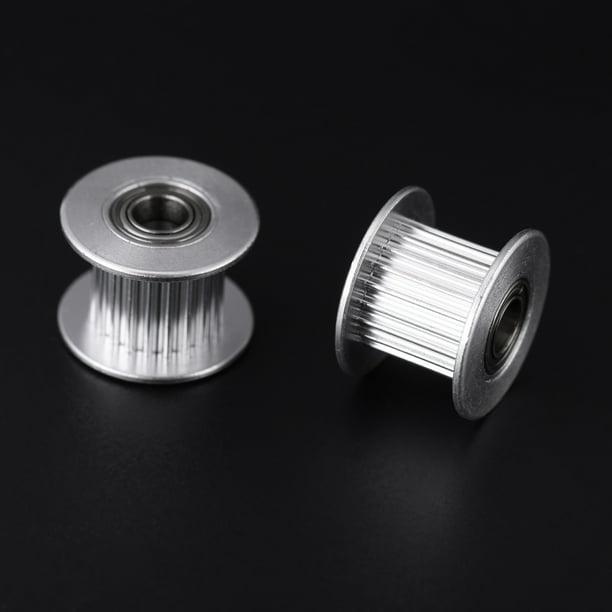 带宽6mm16齿内孔3不带齿 Belt Pulley 5pcs 2GT 6mm//10mm Wide Belt Timing Pulley 16T//20T 3mm//5mm Bore 3D Printer Accessary.