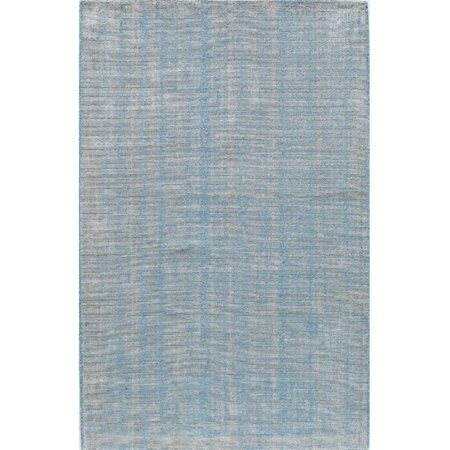 Williams Stonewash Turquoise Rectangle Solid Rug, 8 x 10 ft. - image 1 de 1