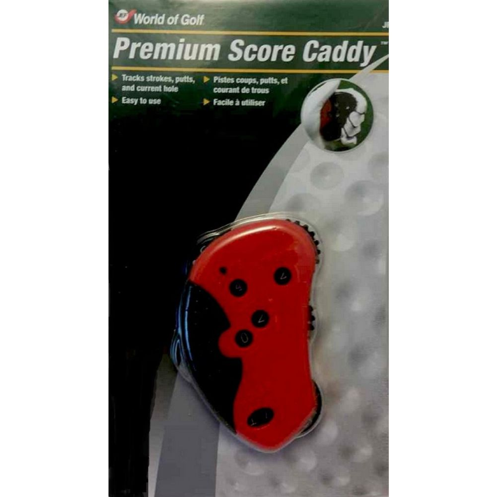 JEF World Of Golf Premium Score Caddy (Score Keeper) Accessory NEW